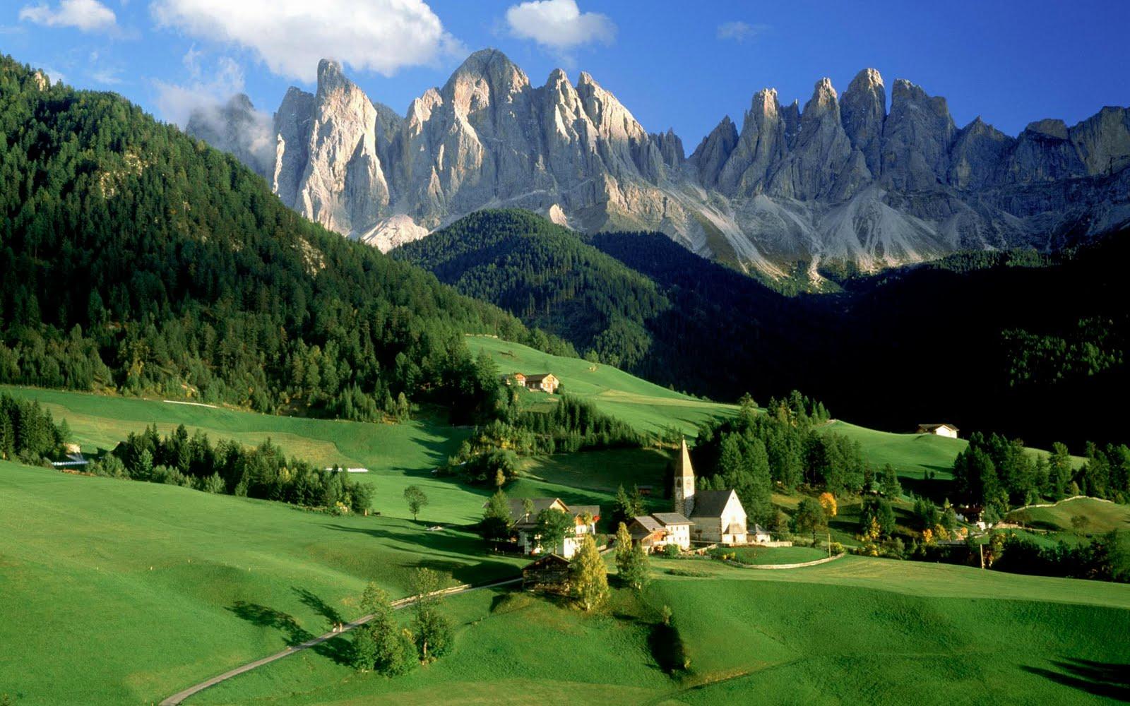 Beautiful wallpapers Italian Landscape desktop wallpapers 1600x1000