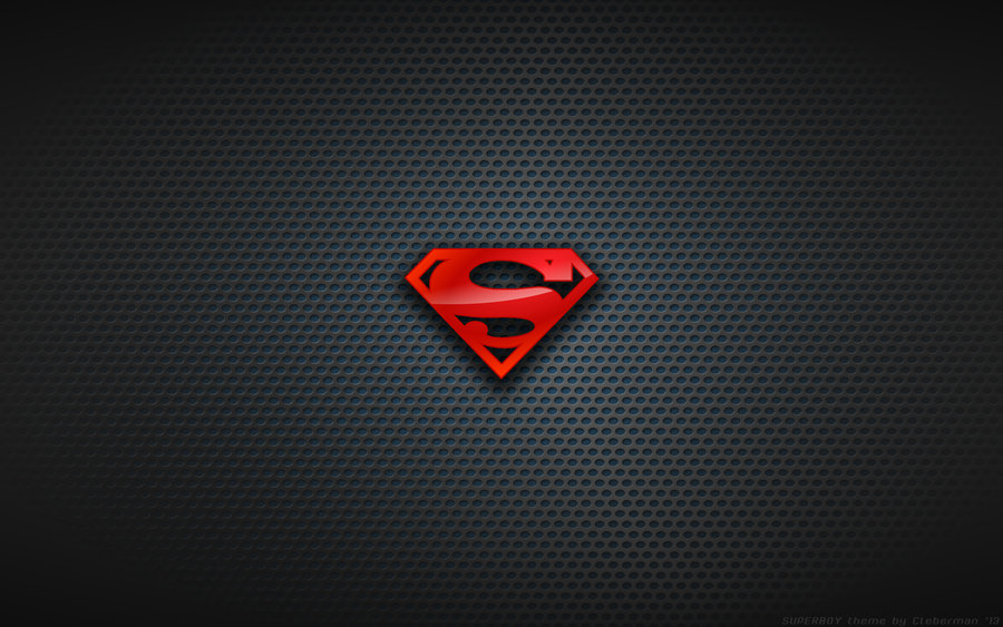 Wallpaper   Superboy Young Justice Logo by Kalangozilla 900x563
