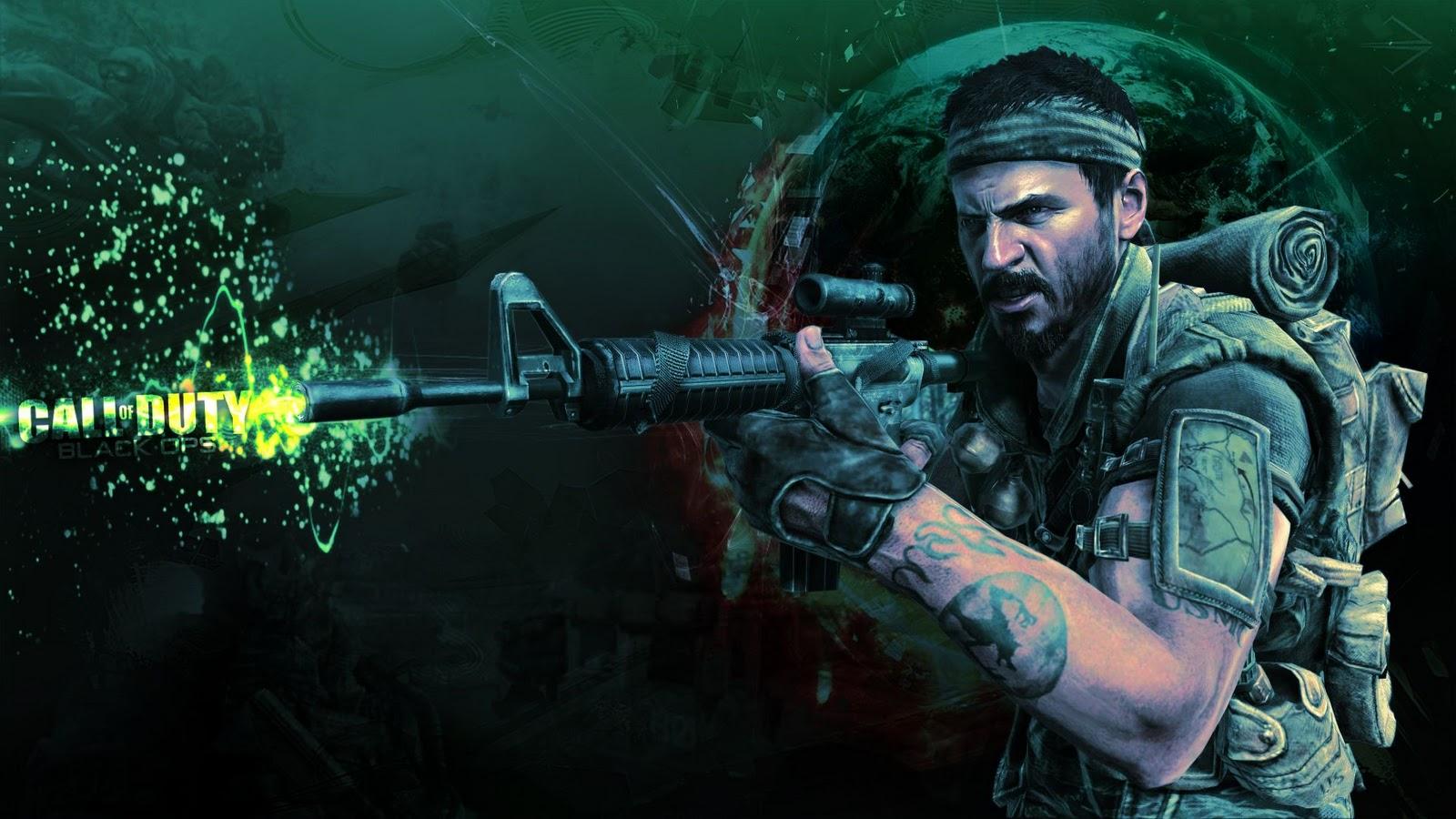 Call of Duty Black Ops HD Wallpapers 1900x1200 Desktop Wallpapers 1600x900