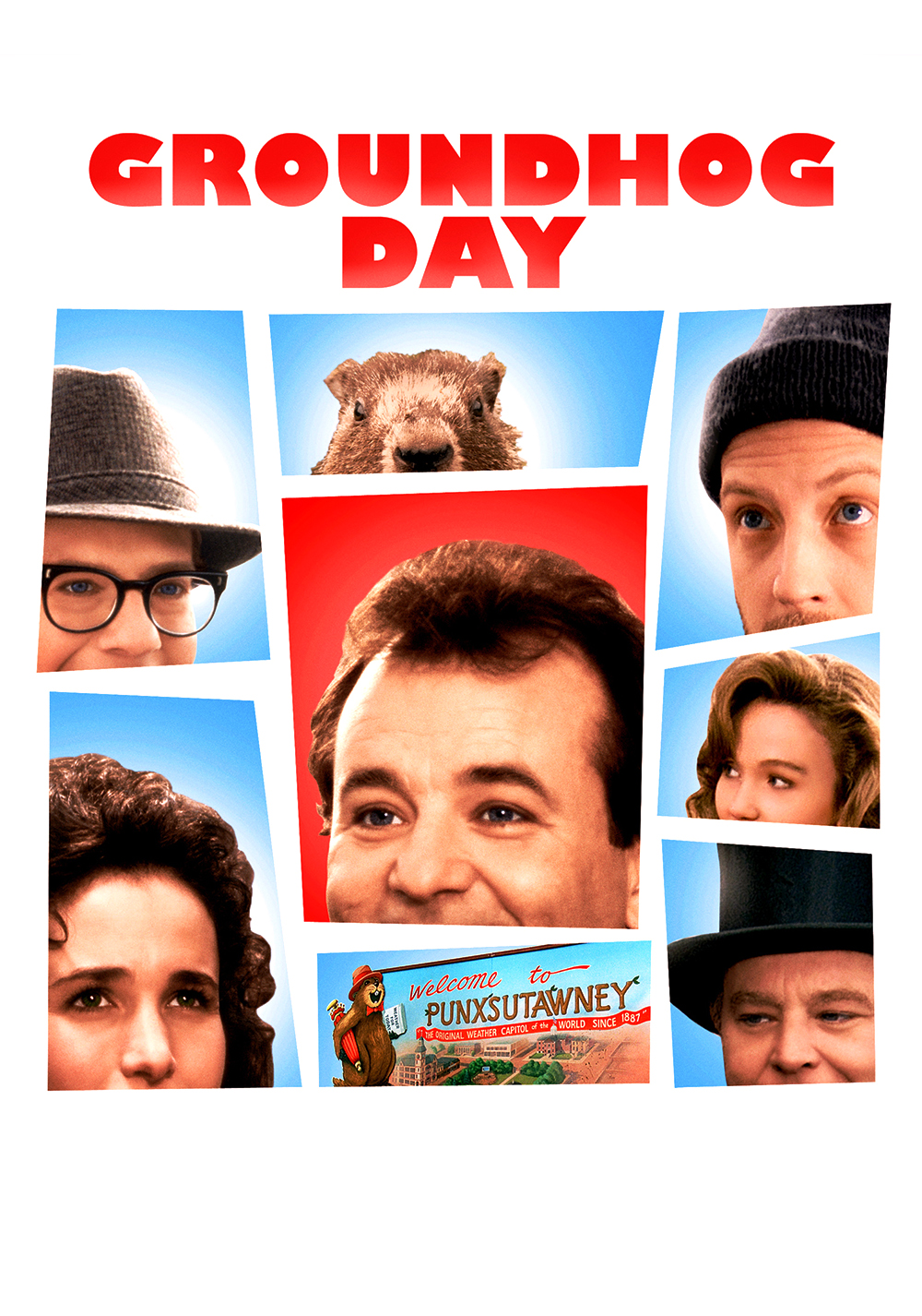 Collection of Groundhog Day Movie Wallpapers 37 images in 1000x1426