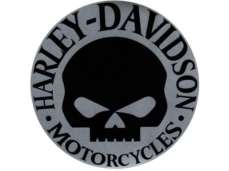 Harley Davidson Skull Logo 800x600
