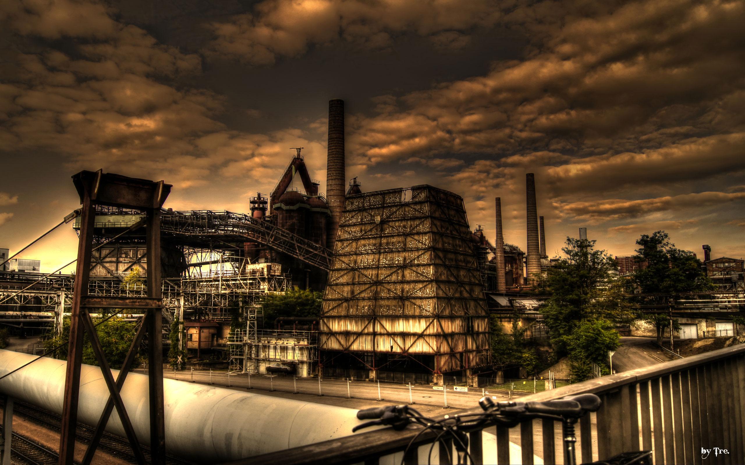 Industrial Wallpaper - WallpaperSafari