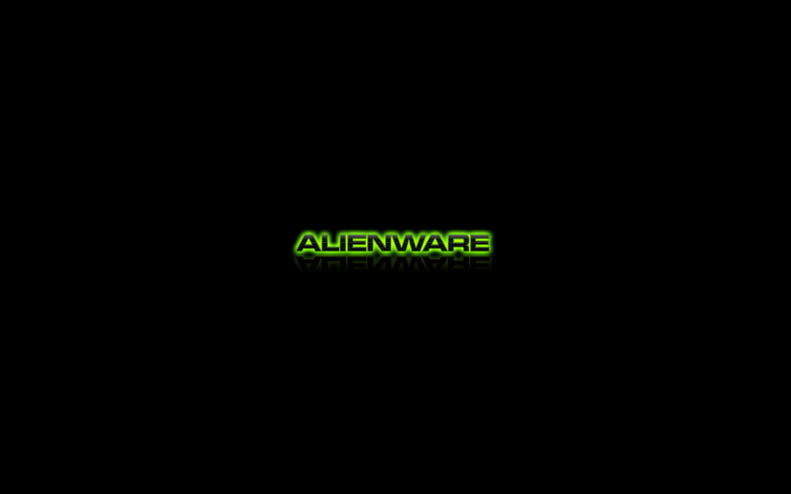 Alienware Green Logo by darkangelkrys 2560x1600