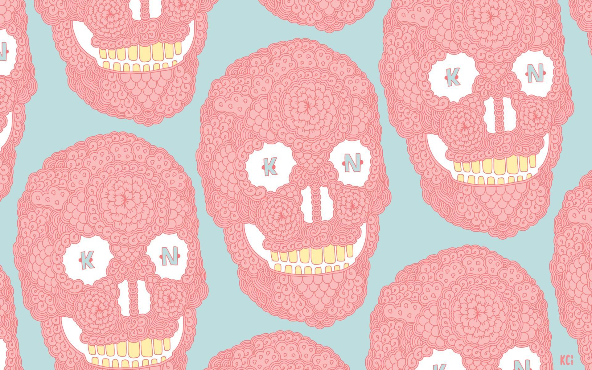 Pastel Skulls Wallpapers Pastel Skulls Myspace Backgrounds Pastel 1920x1200
