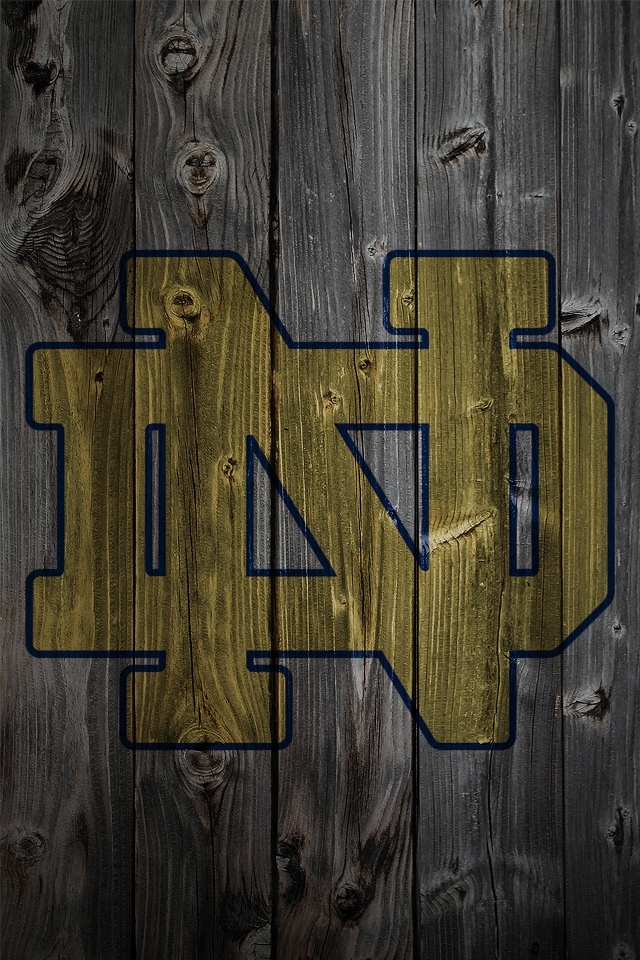 Notre Dame Fighting Irish HD Wallpaper for iphone 4iphone 4S 640x960