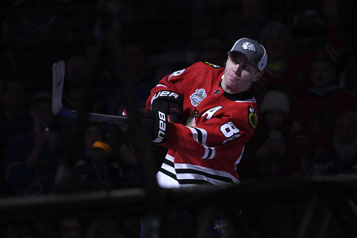 2020 NHL All Star Skills results Blackhawks Patrick Kane wins 1200x800