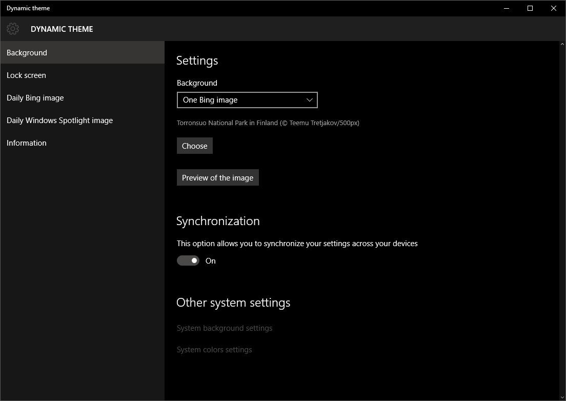 This App Changes Your Windows 10 Background Using Bings 1104x782