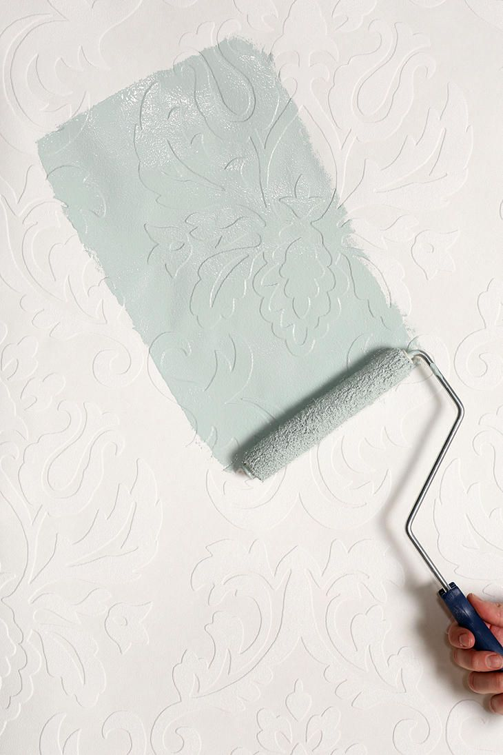Graham Brown Damask Paintable Wallpaper Neat idea 730x1095