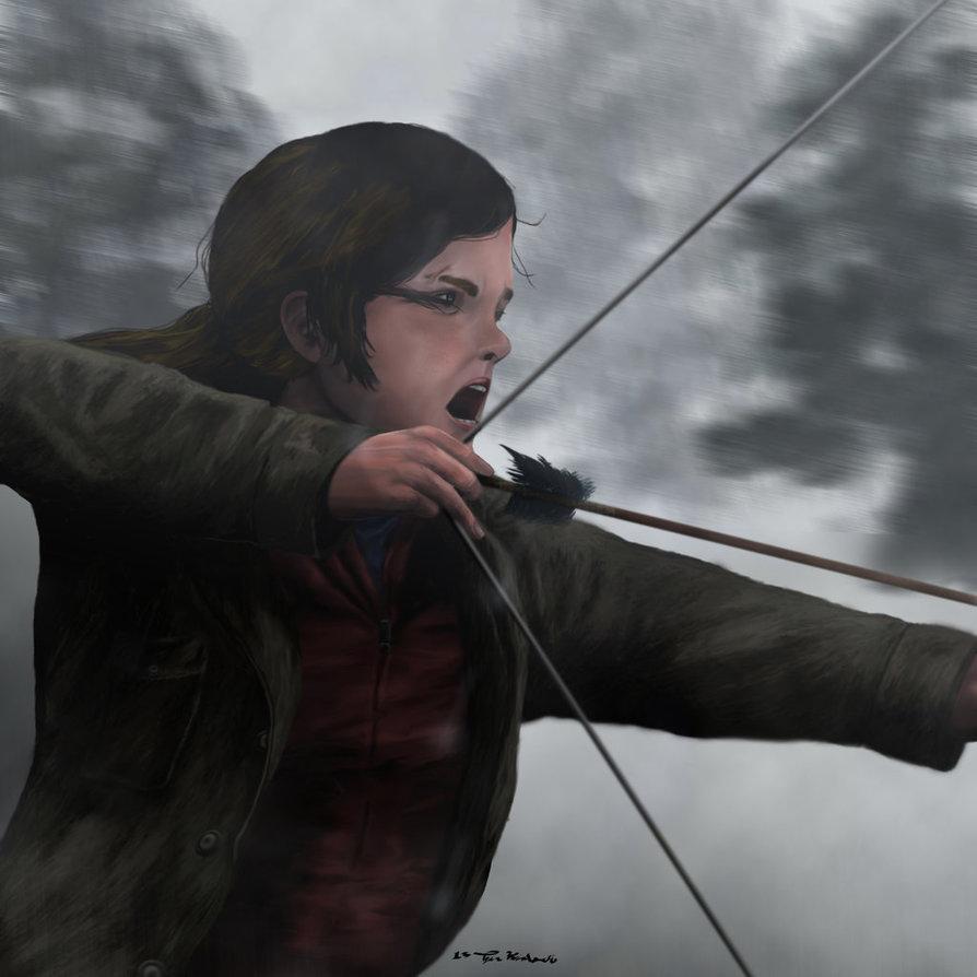 The Last Of Us Winter Ellie by TylerKind 894x894