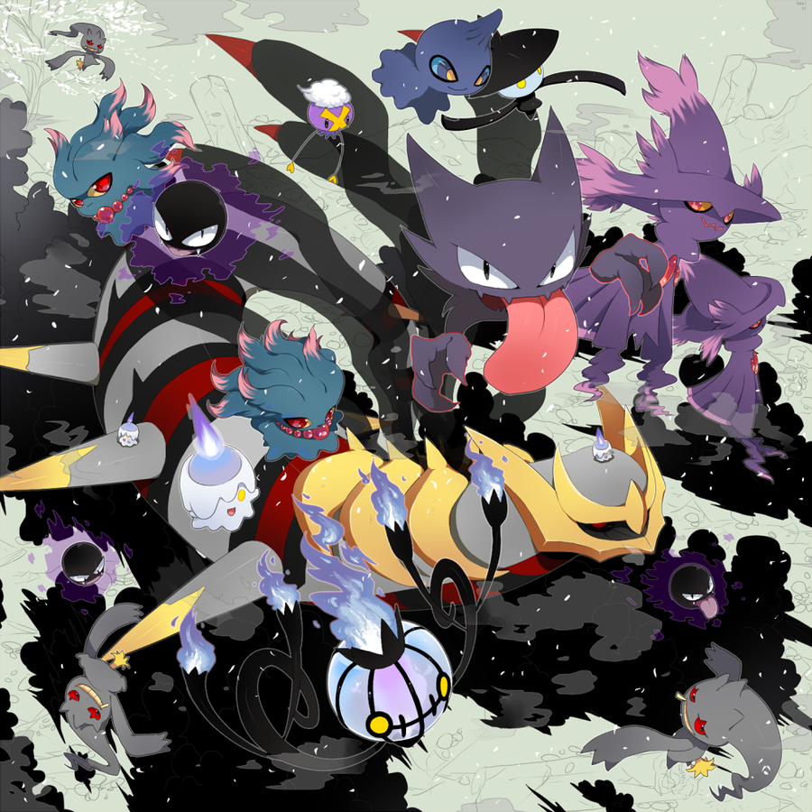 Ghost Type Pokemon Wallpaper Ghost types giratina 900x900