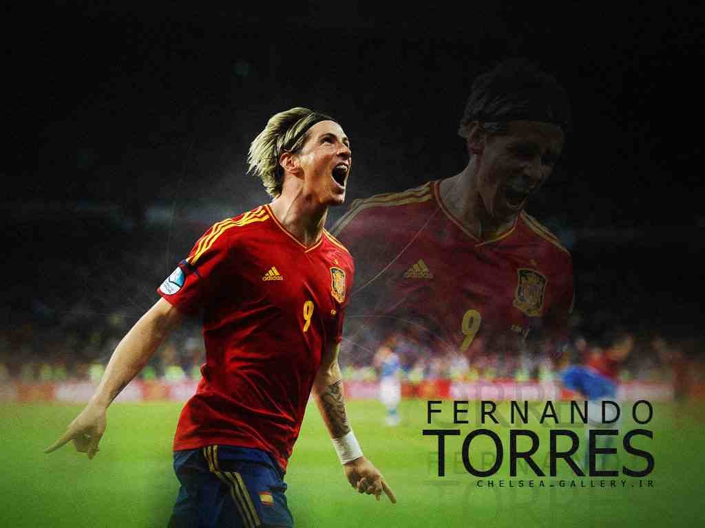 Football Super Star Player Fernando Torres New HD 1024x768