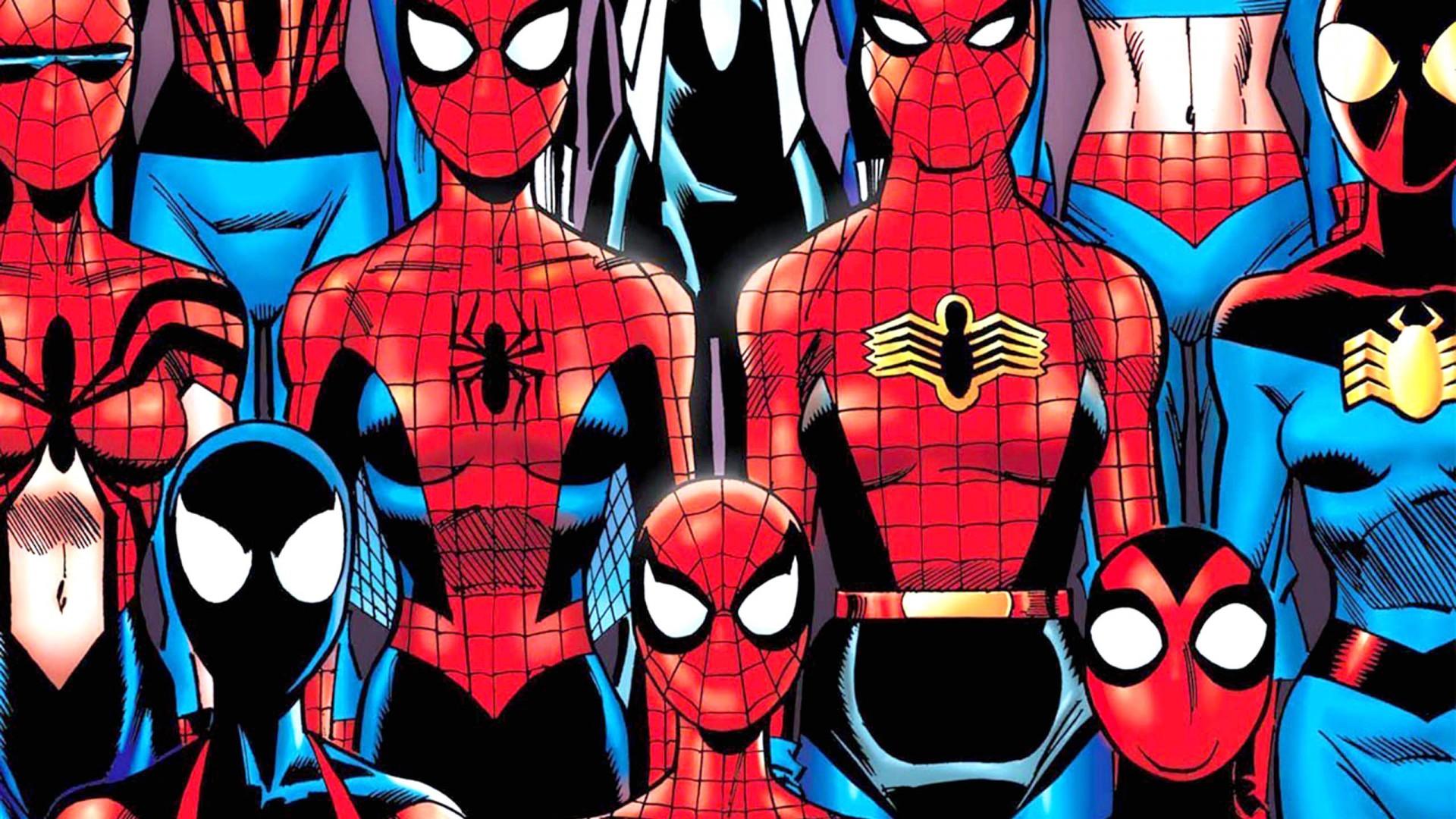 Spiderman Deadpool 1080 HD Wallpaper 1920x1080