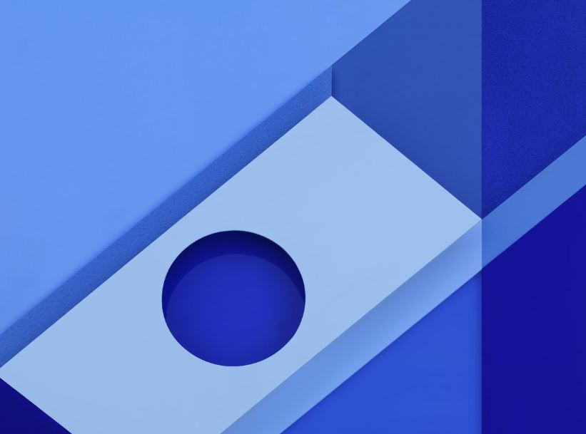 android m wallpaper text blaues wallpaper 821x609