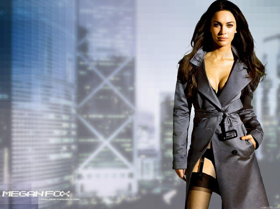 Megan Fox Dressed Cool Full HD Wallpaper 550x412