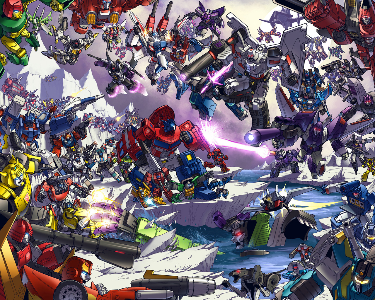TRANSFORMERS MATRIX WALLPAPERS Varios G1 3D 1280x1024