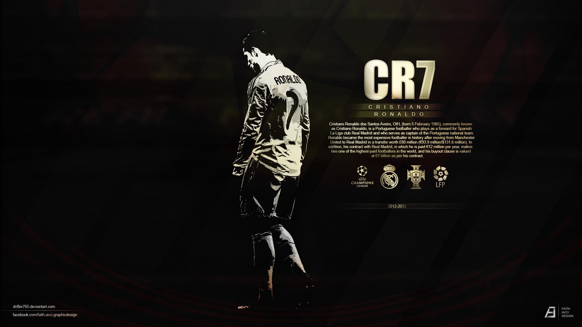 CR7 Real Madrid HD Wallpaper 5654 Wallpaper ForWallpaperscom 1920x1080