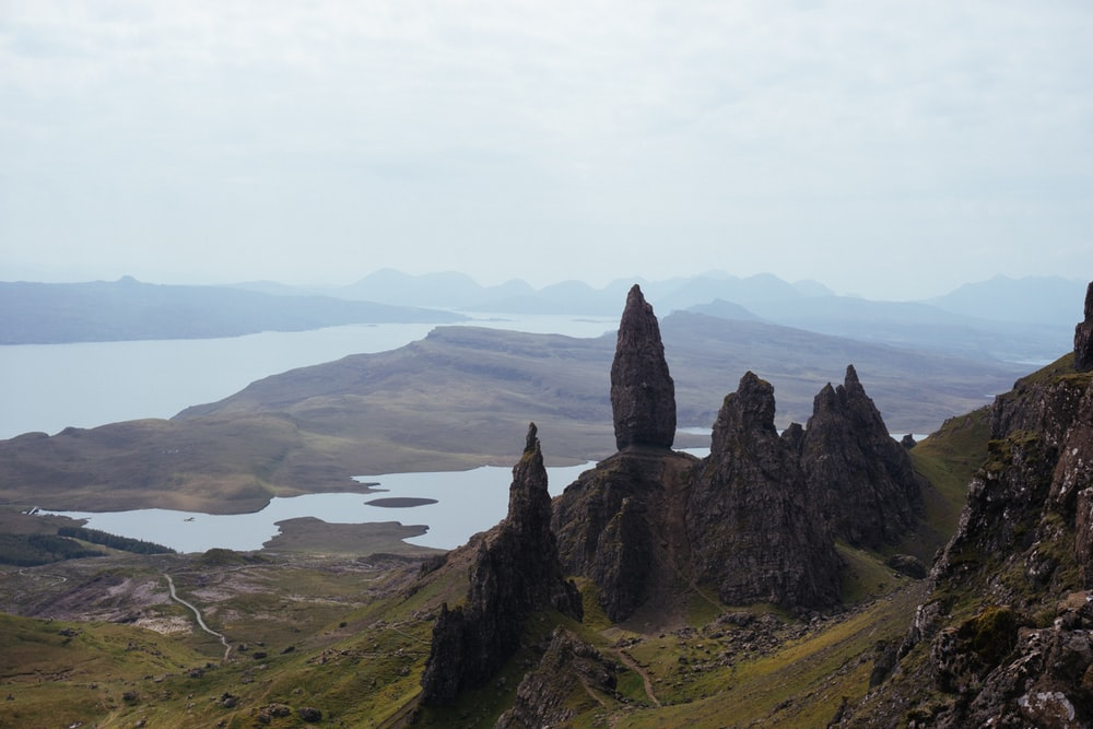 Old Man Of Storr Portree United Kingdom Pictures Download 1000x667
