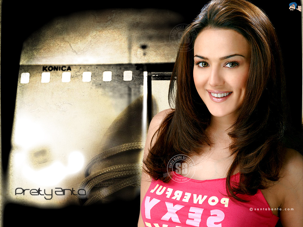 Picture Preity Zinta Indian Celebrities 1024x768