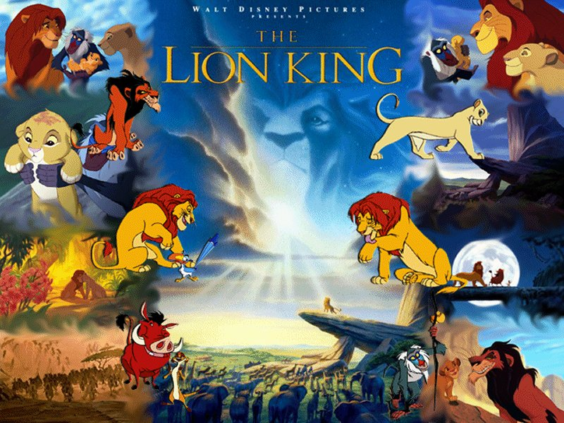 The Lion King The Lion King 800x600