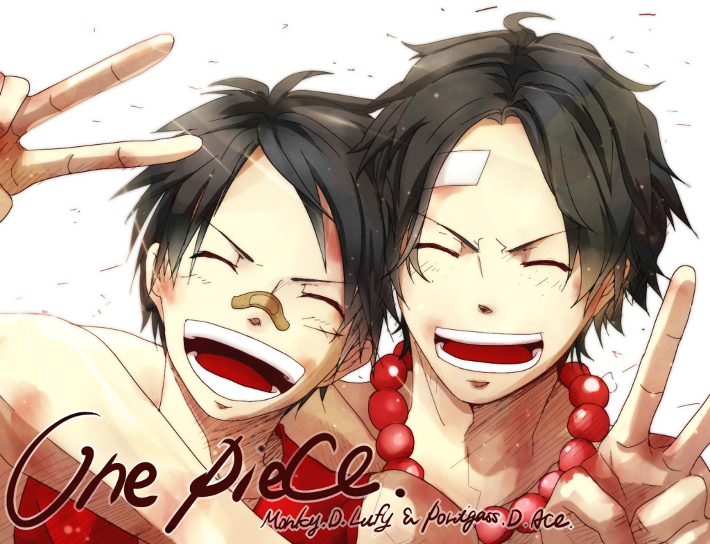 Luffy Ace One Piece HD wallpaper   Luffy Ace One Piece 1024x785
