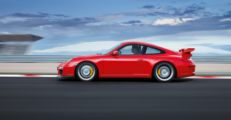 2011 Red Porsche 911 GT3 wallpapers 3000x1560