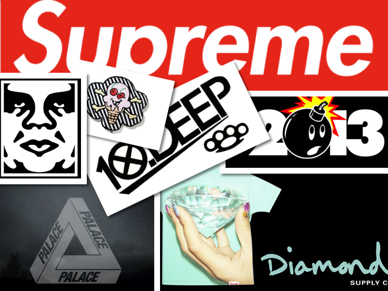 Supreme OBEY Ice Cream The Hundreds Palace 10 DEEP Diamond 800x600