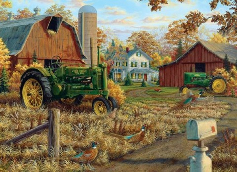 Rustic Farm in Autumn wallpaper   ForWallpapercom 1075x779