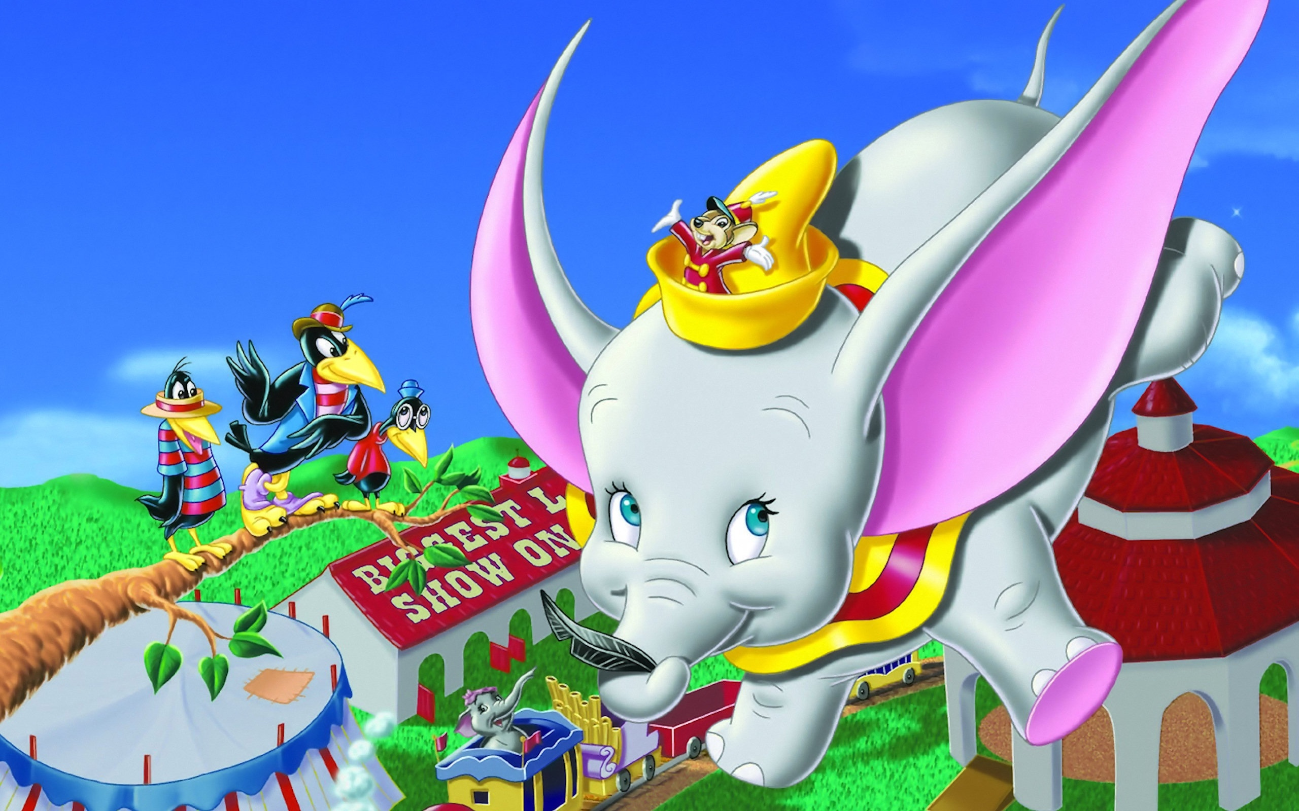 Dumbo Wallpapers HD 2560x1600