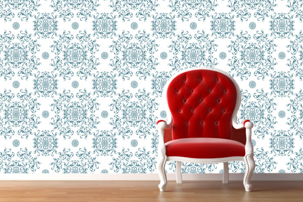 Remove Reuse Fabric Wallpaper WallSkins Fast Easy No Commitment 600x400