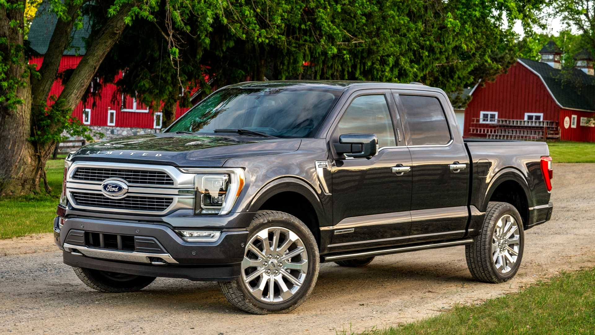 2021 Ford F 150 Redesign Revealed With Hybrid Version Clever Features 1920x1080