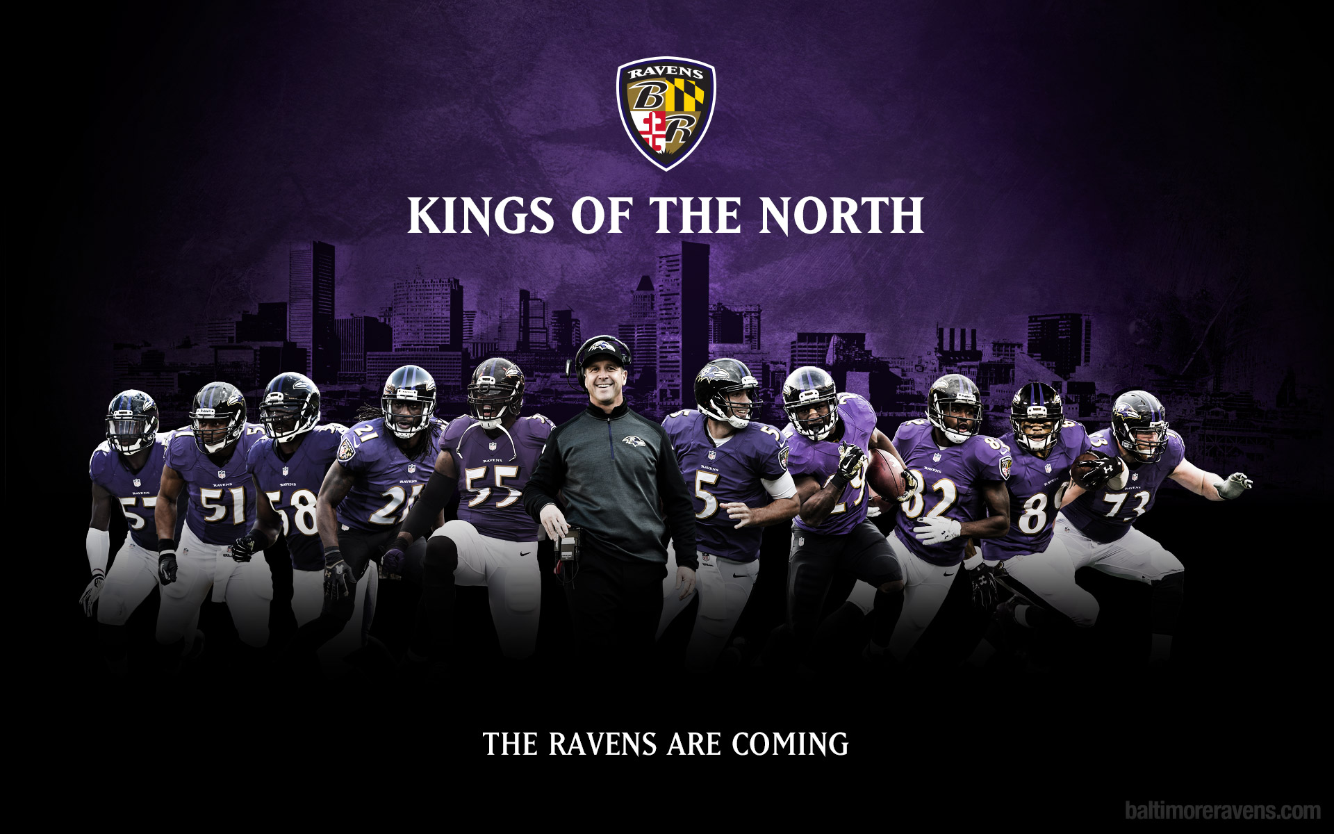 [Desktop Wallpaper] Kings Of The North 1920x1200 ravens 1920x1200