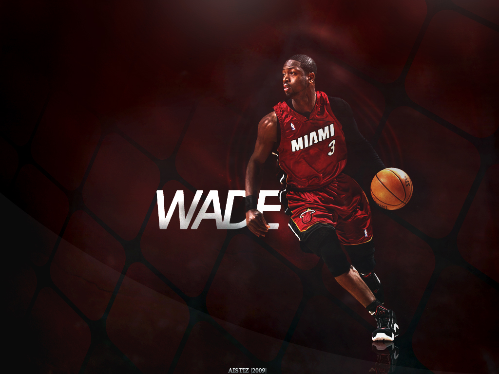 Dwayne Wade wallpaper by Aistiz 1024x768