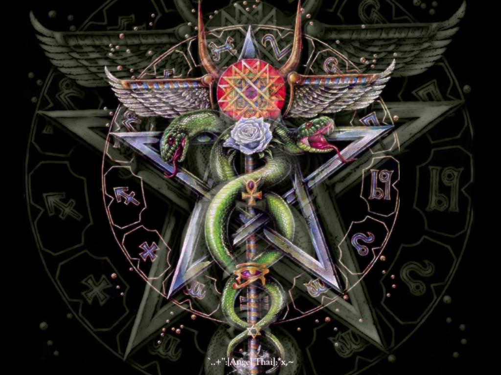 Displaying 20 Images For   Wiccan Pentacle Wallpaper 1024x768