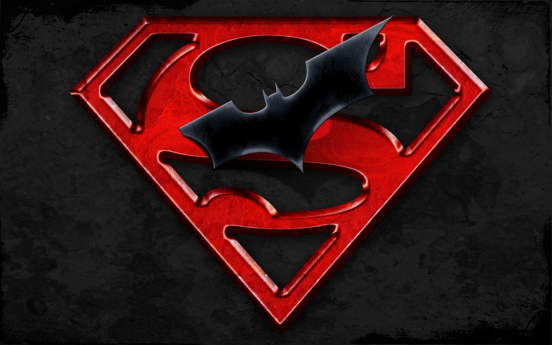 Superman Batman Logo HD Wallpaper 1080x675 Superman Batman Logo 1080x675