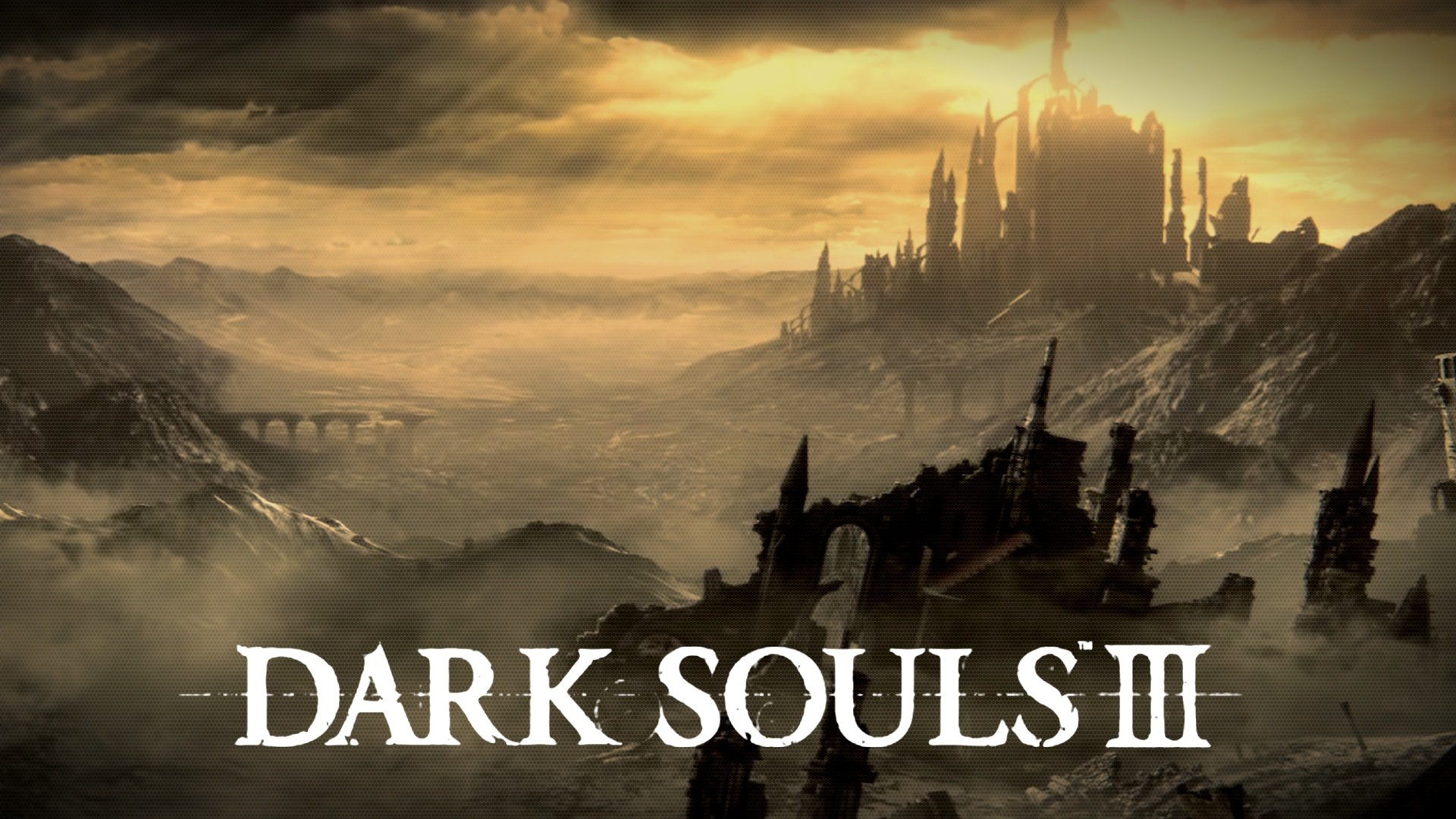 DARK SOULS 3 action rpg fighting warrior fantasy poster wallpaper 1920x1080