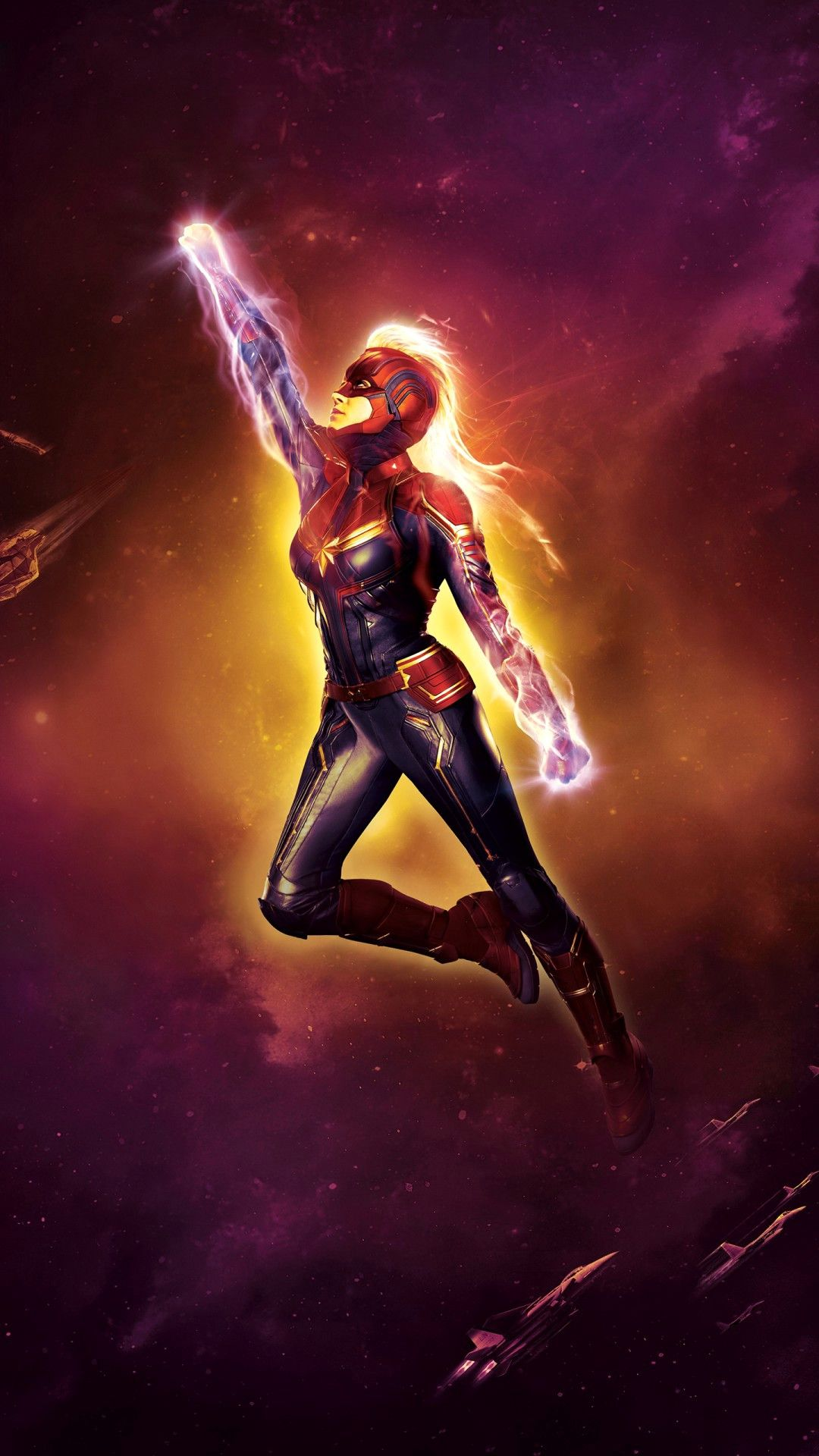 Download Captain Marvel Wallpaper Awesome Marvel Wallpaper For 1080x1920