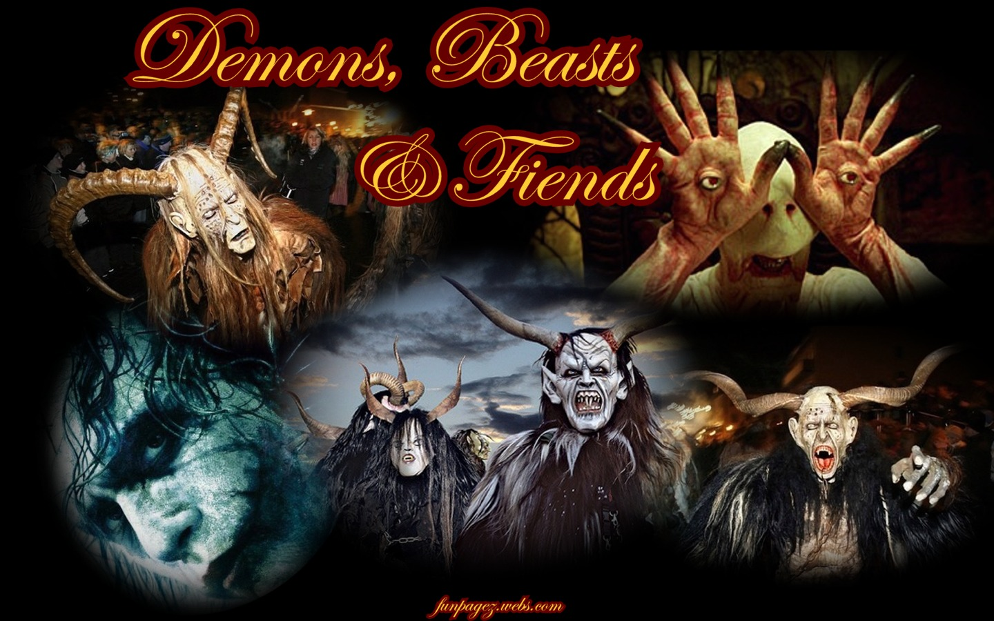 Demons Beasts Monsters 1440 x 900 ResolutionRight click to set as 1440x900