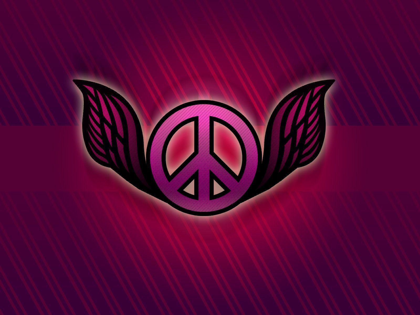 Pics Photos   Peace Sign Desktop Wallpaper 1600x1200