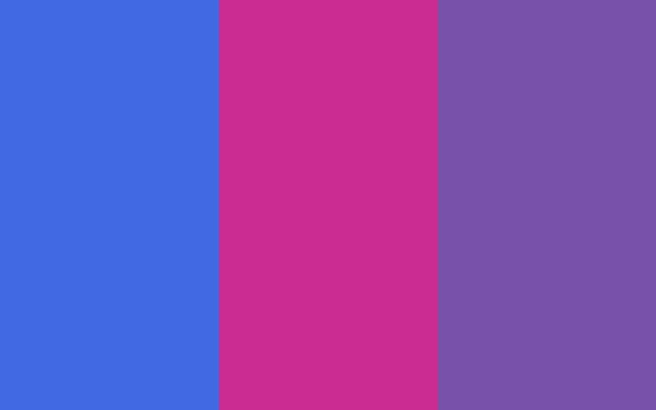 Royal Blue Web Royal Fuchsia and Royal Purple Three Color Background 1280x800