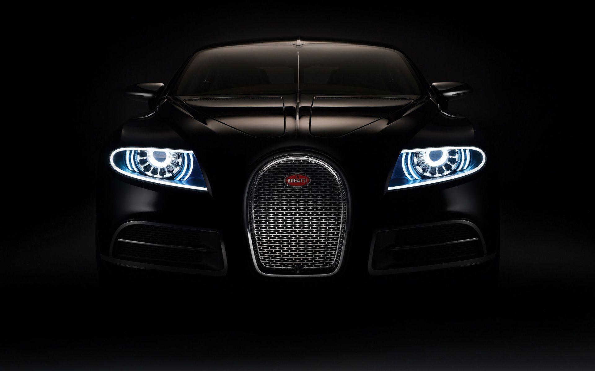 Bugatti Veyron 16C Galibier Bugatti Veyron Black Front Car Wallpaper 1920x1200