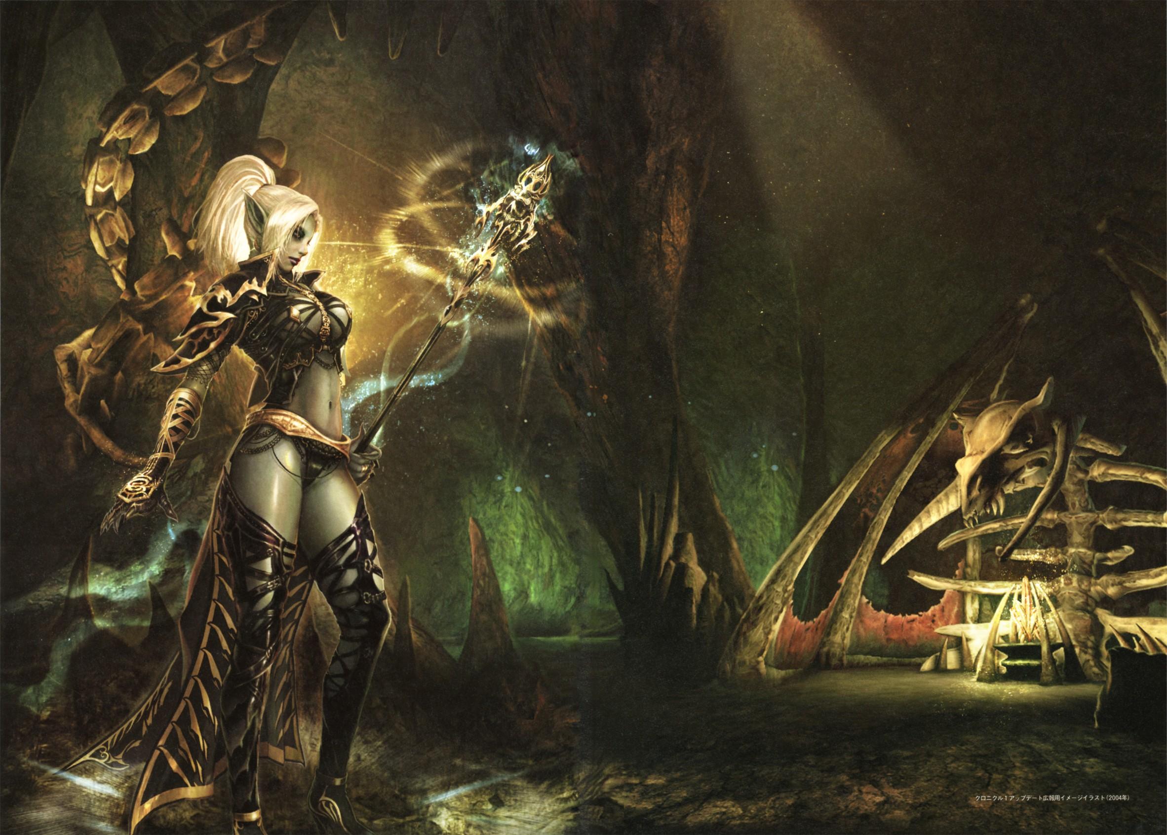 dark elf Video Game Wallpaper Background 46803 2364x1693