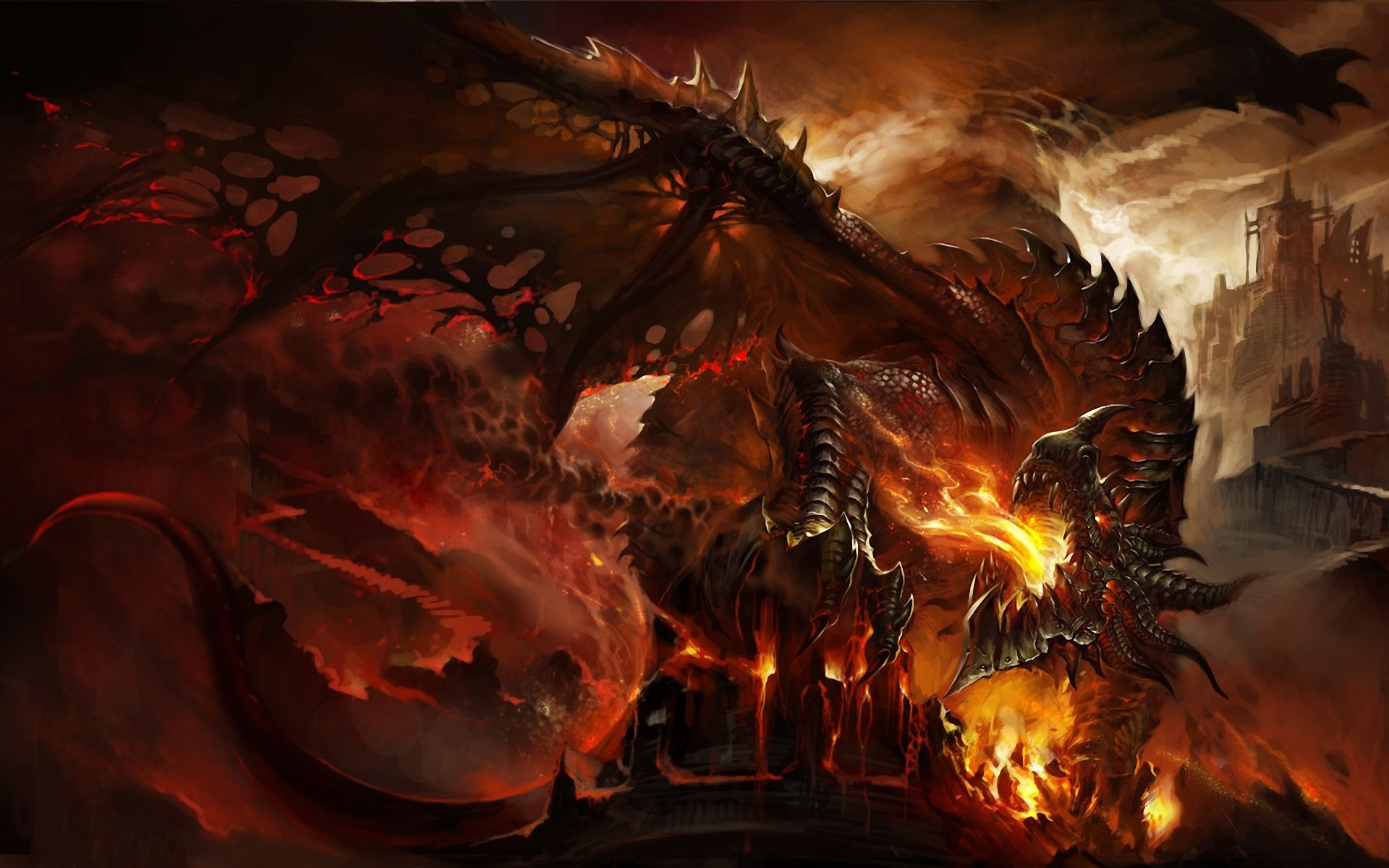 Free Download Deathwing Cataclysm Wallpapers Hd 1920x1200 For