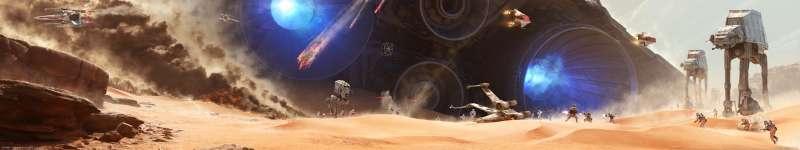 48 Star Wars Triple Screen Wallpaper On Wallpapersafari