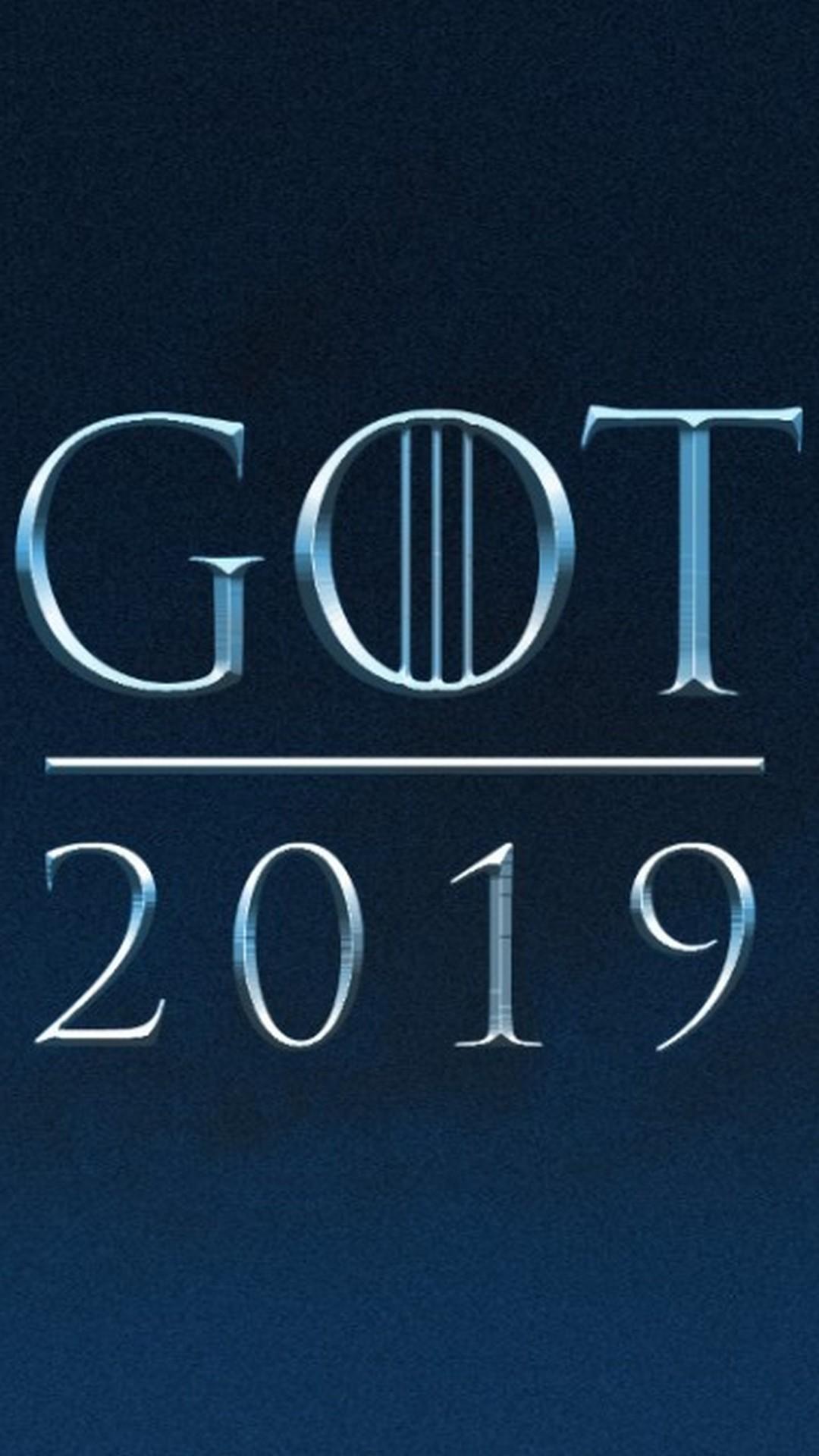 Game of Thrones Season 8 iPhone 7 Wallpaper 2019 Movie Poster 1080x1920