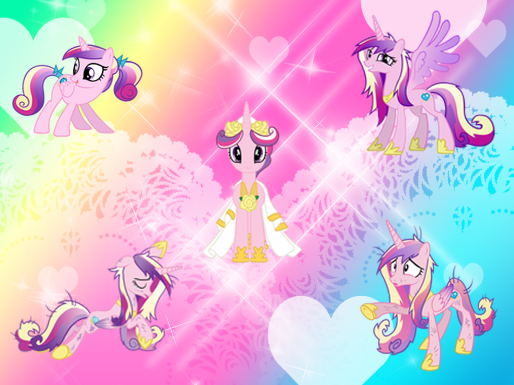 Mlp princess cadence wallpaper wallpapersafari - Princess luna screensaver ...
