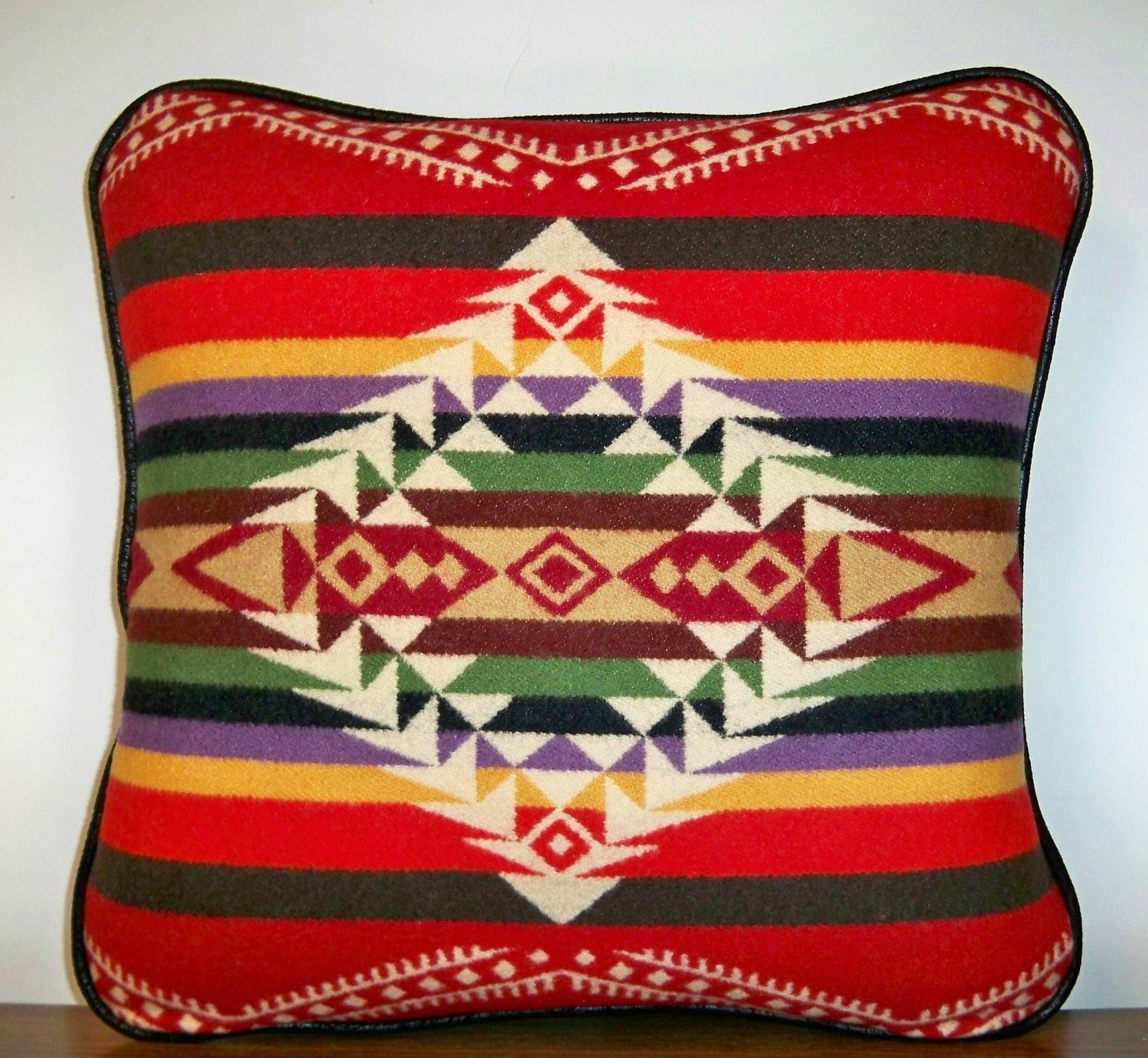 Pendleton pillow Diamond overlay on background pattern Like the 1500x1383