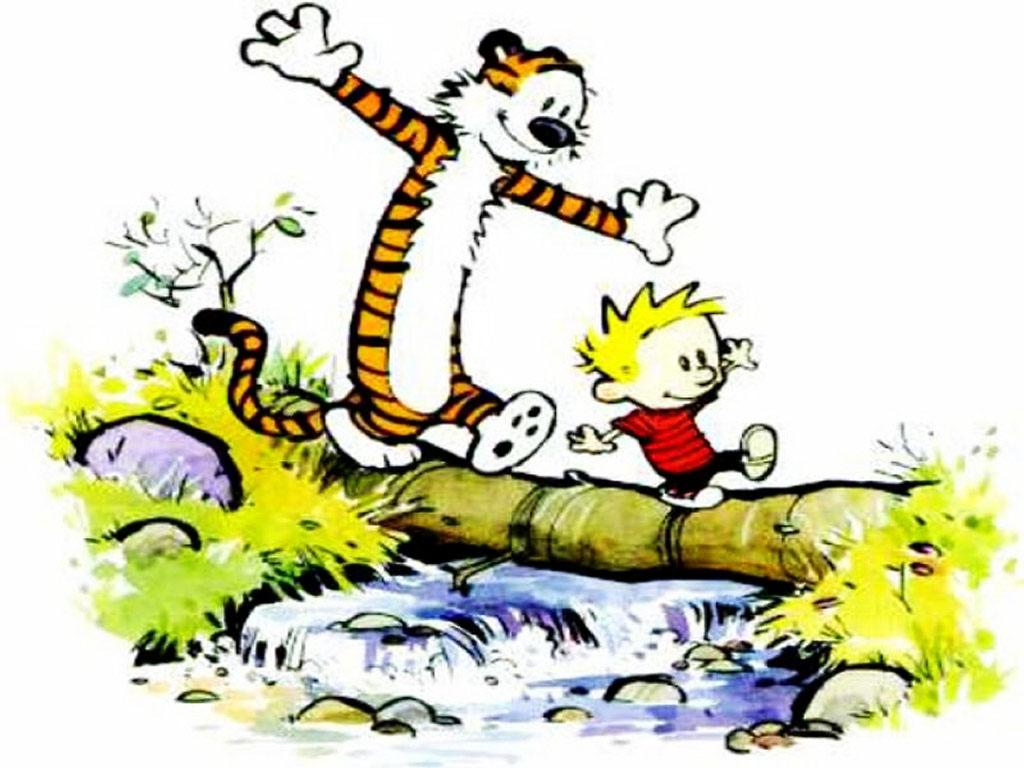 Calvin Hobbes   Calvin Hobbes Wallpaper 254155 1024x768