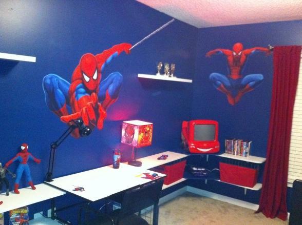 Spiderman Room Ideas