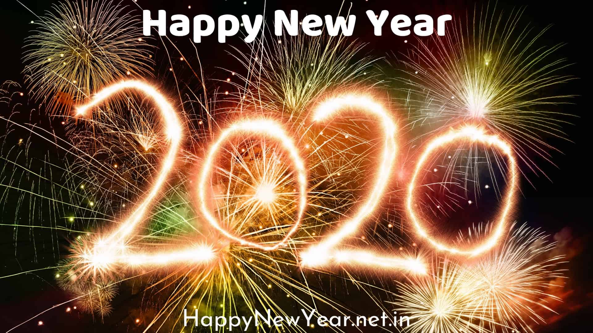Happy new year wishes for friends 2020 wallpaper 1920x1080 1920x1080
