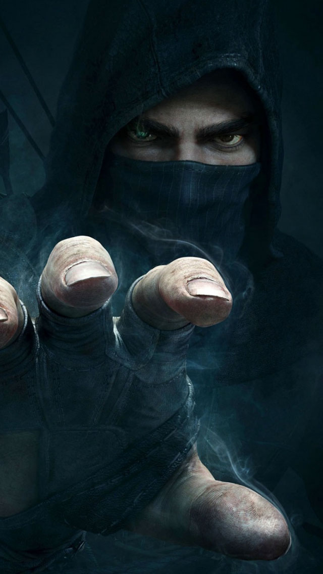 Thief Video Game Wallpaper   iPhone Wallpapers 640x1136